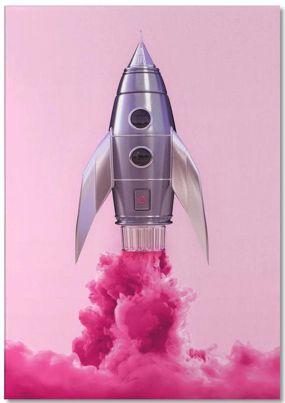 Rocket -Notizblock