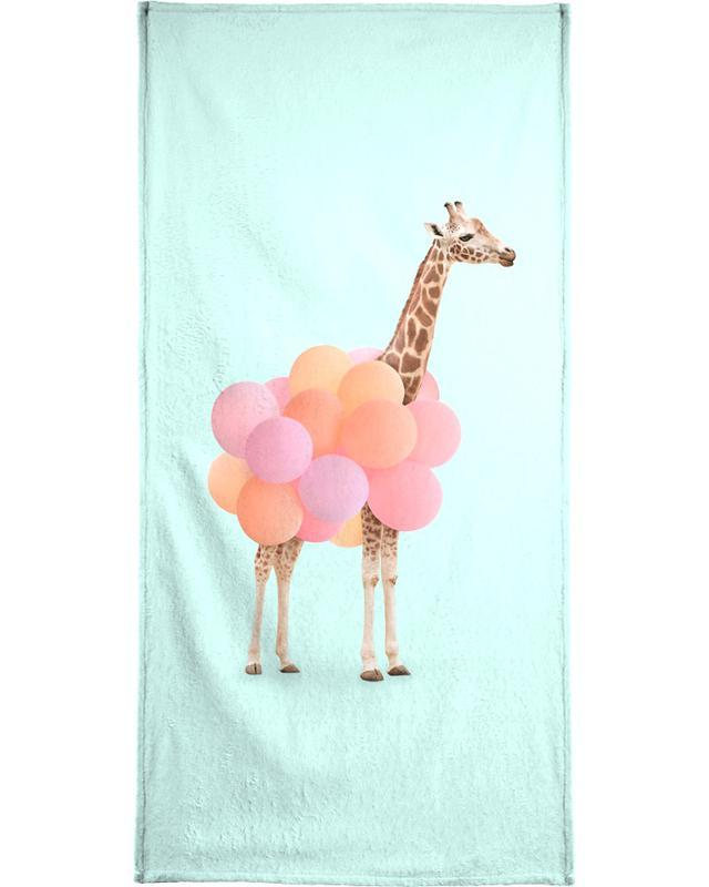 Party Giraffe Bath Towel