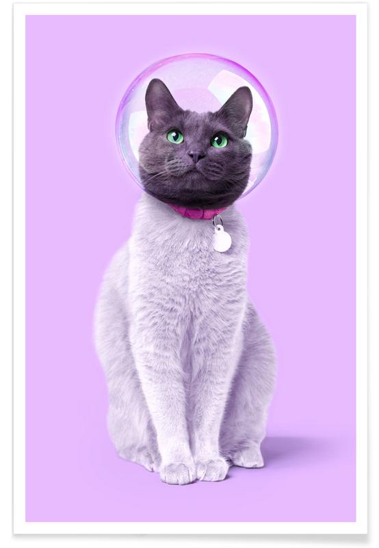 Space Cat -Poster