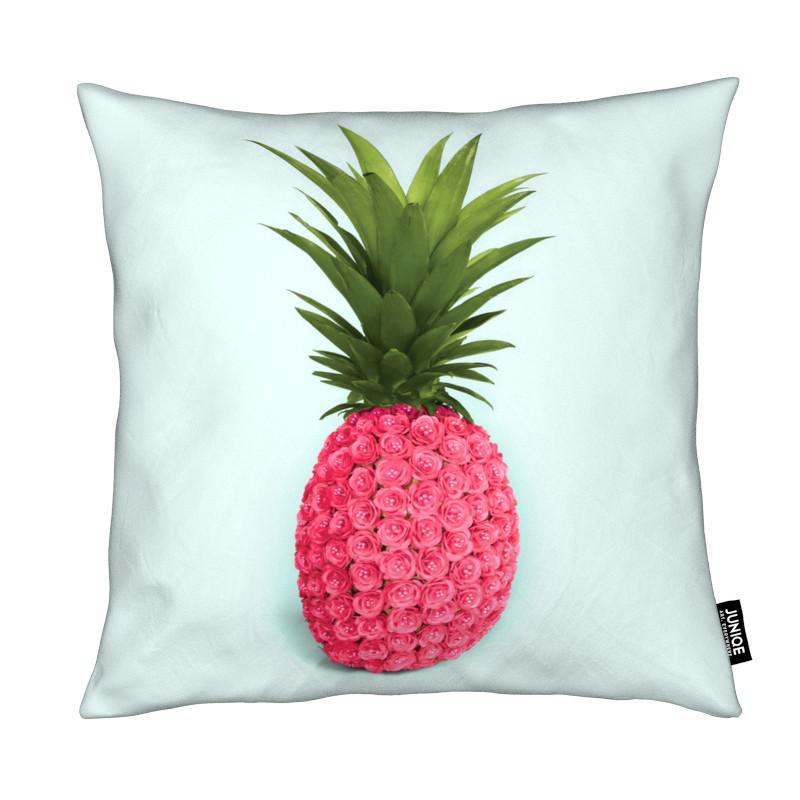 Pineapple Roses Kissenhülle | Heimtextilien > Bettwäsche und Laken > Kopfkissenbezüge | Mehrfarbig