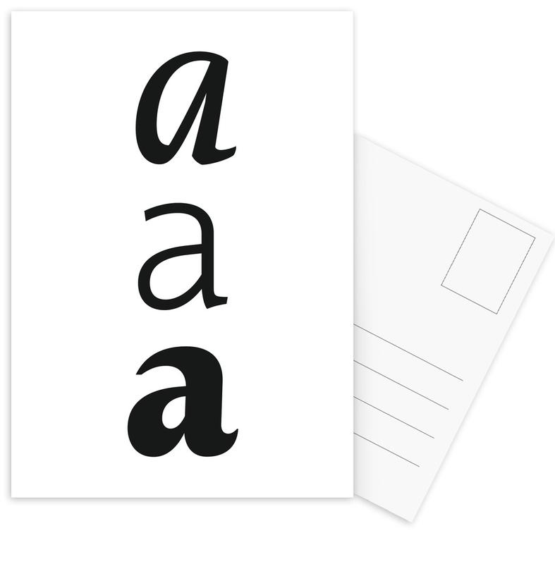 aaa Ansichtkaartenset