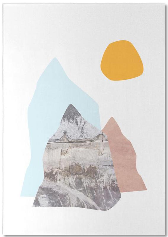 Abstract Mountains Notitieblok