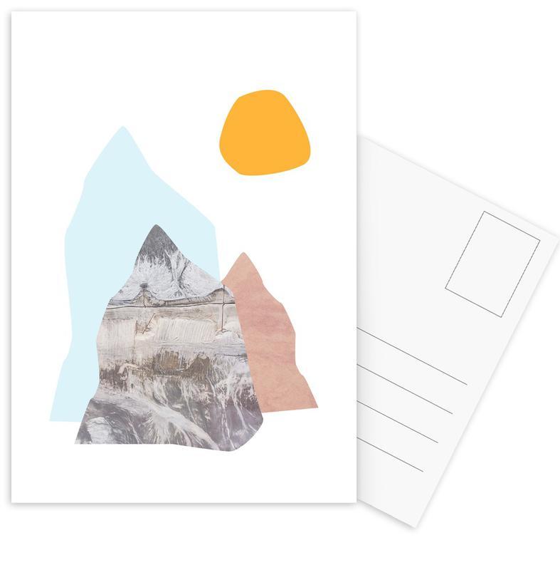 Abstract Mountains Ansichtkaartenset