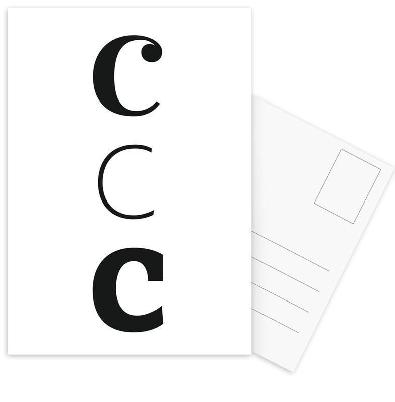 ccc Ansichtkaartenset