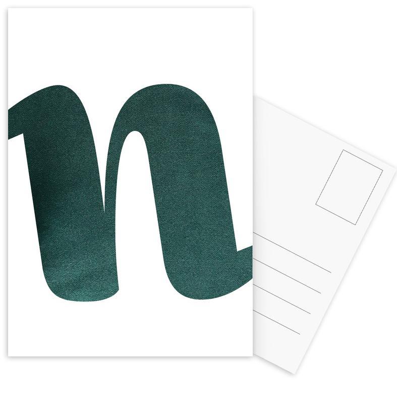 Green N Ansichtkaartenset