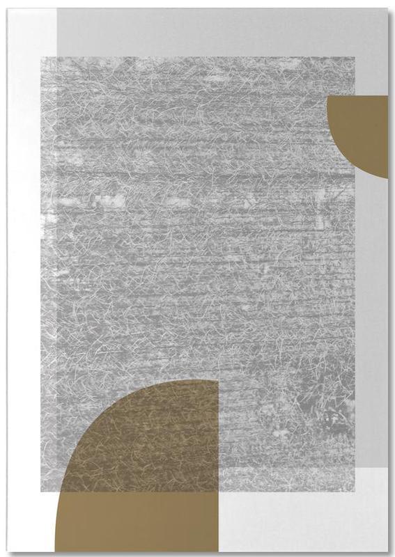Grey Gold Notitieblok