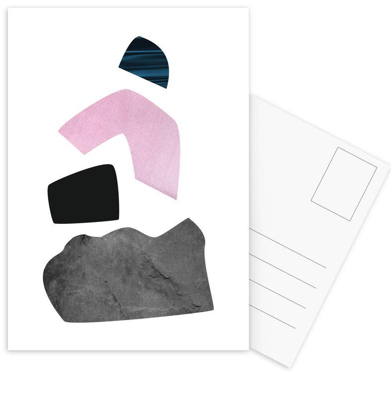Happy Pink Ansichtkaartenset