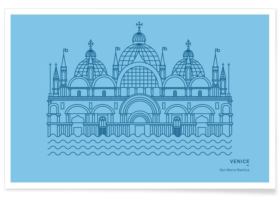 San Marco Basilika -Poster