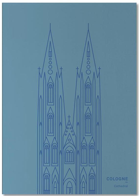 Cologne -Notizblock