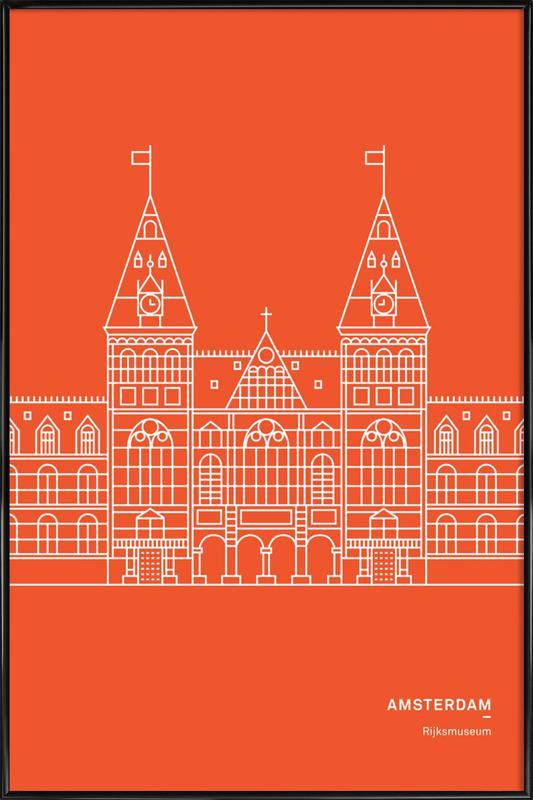 Amsterdam -Bild mit Kunststoffrahmen