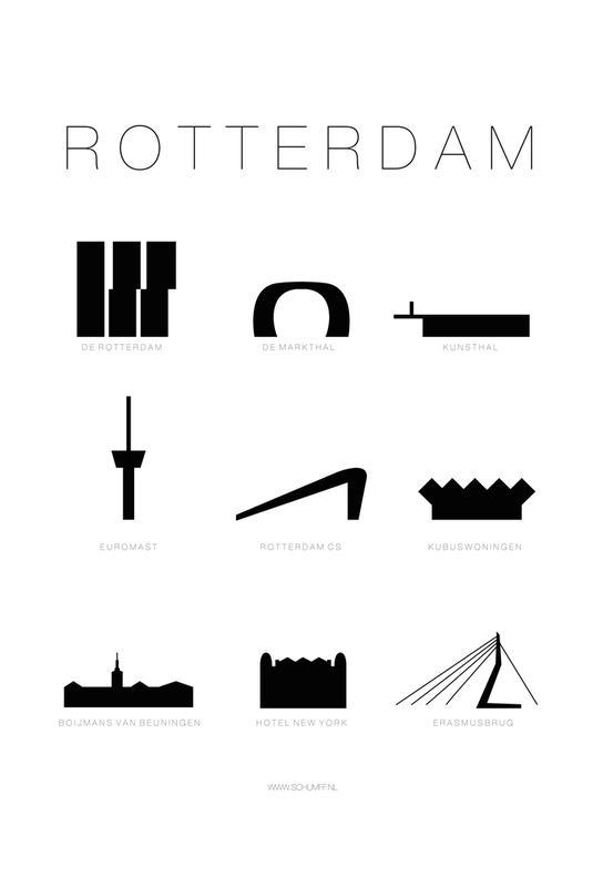 Rotterdam Aluminium Print