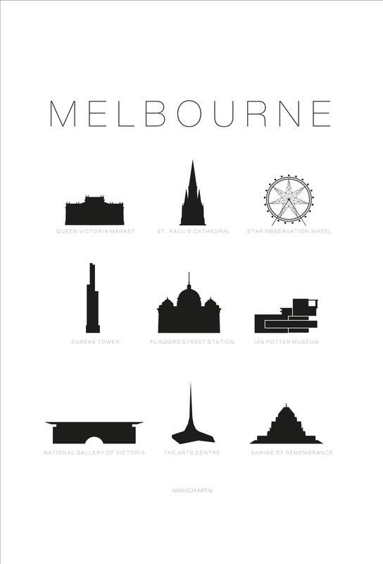 Melbourne Acrylic Print