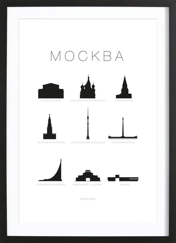 Mockba Framed Print