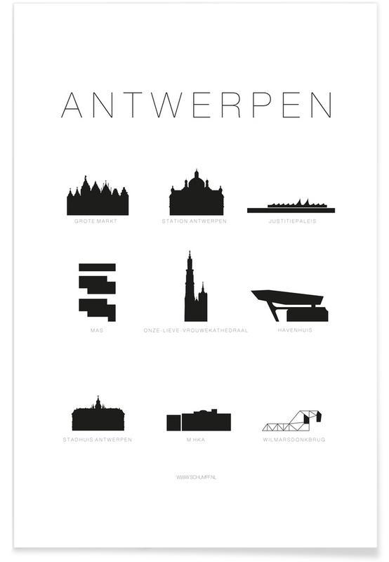 Antwerpen affiche