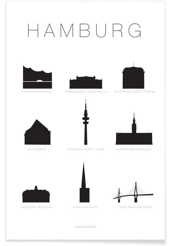 Hamburg -Poster