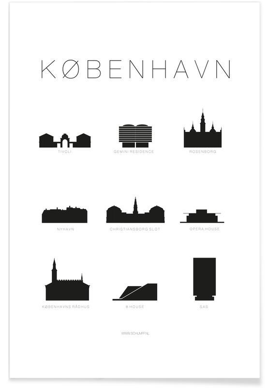 København -Poster