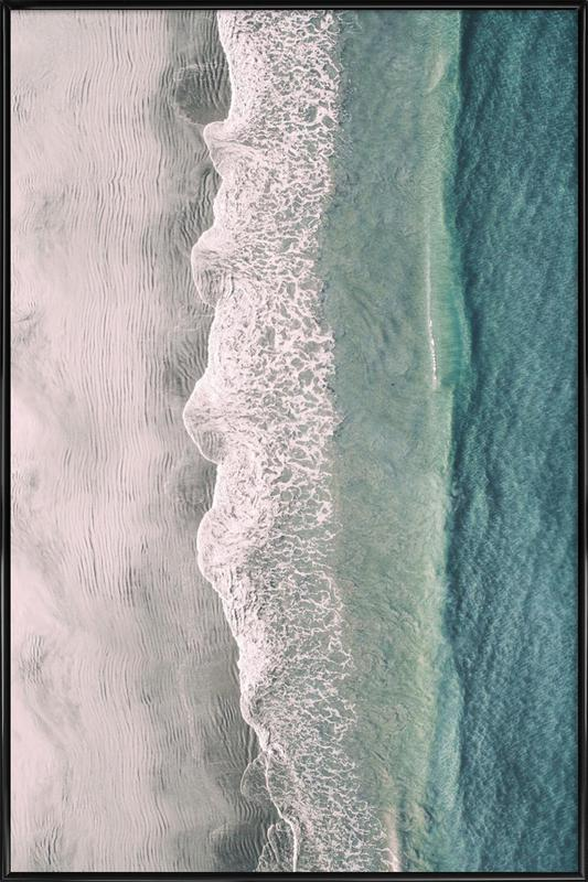 Ocean Waves 1 ingelijste poster