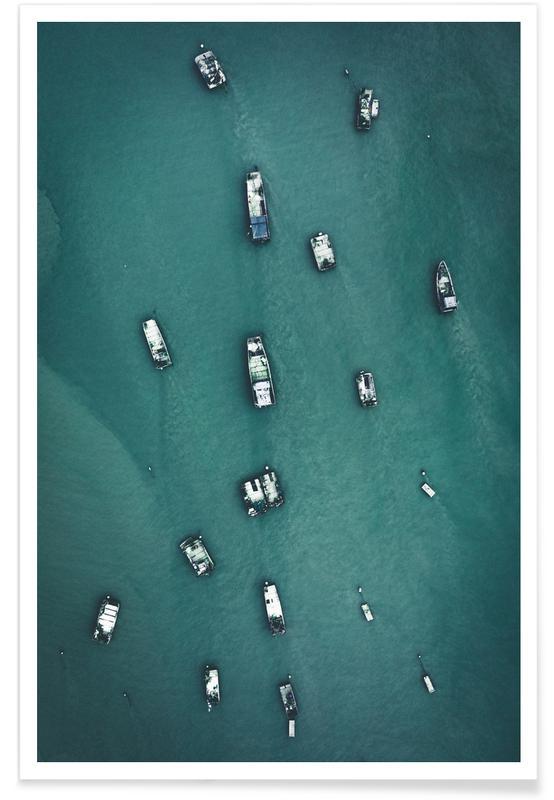 Raft Caravan Poster