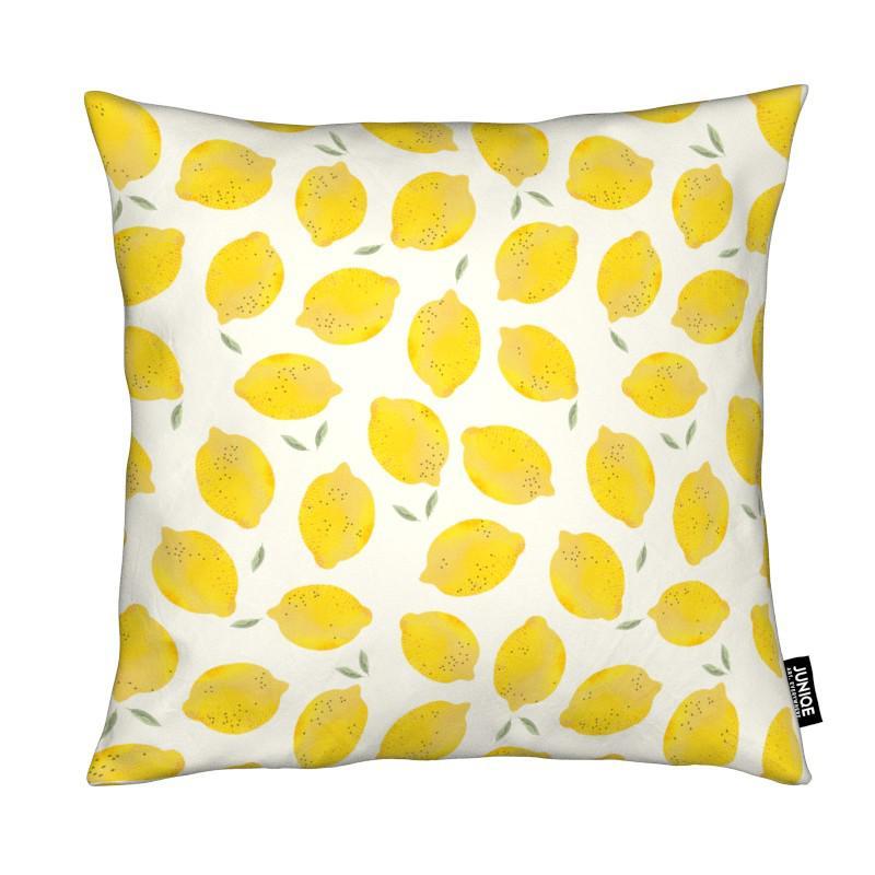 Lemon kind of style kissen square