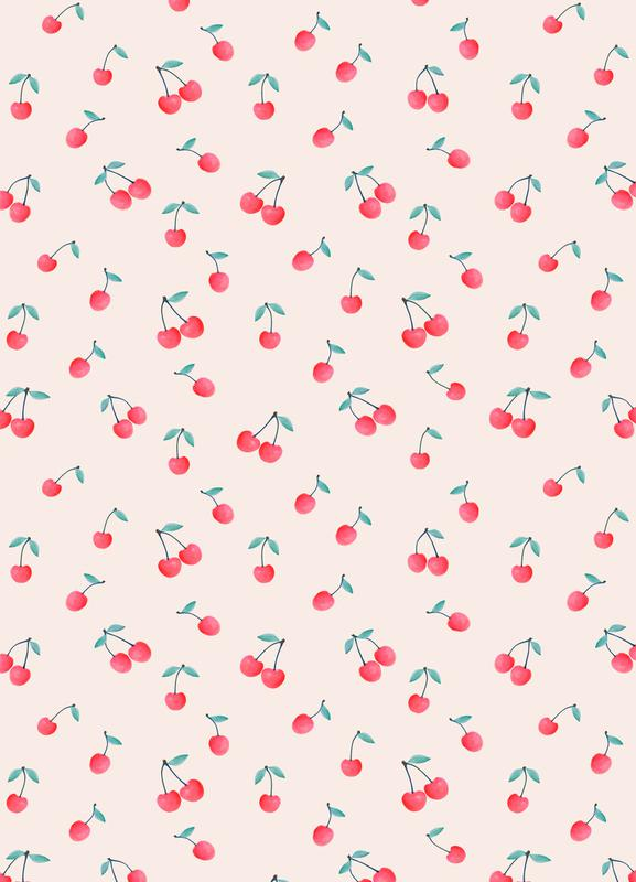 Cherries canvas doek