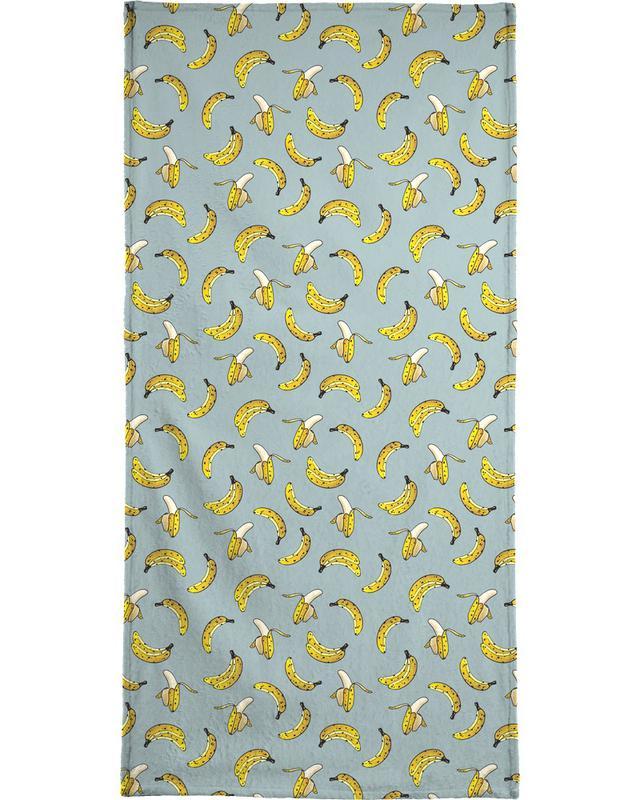Banana Bath Towel