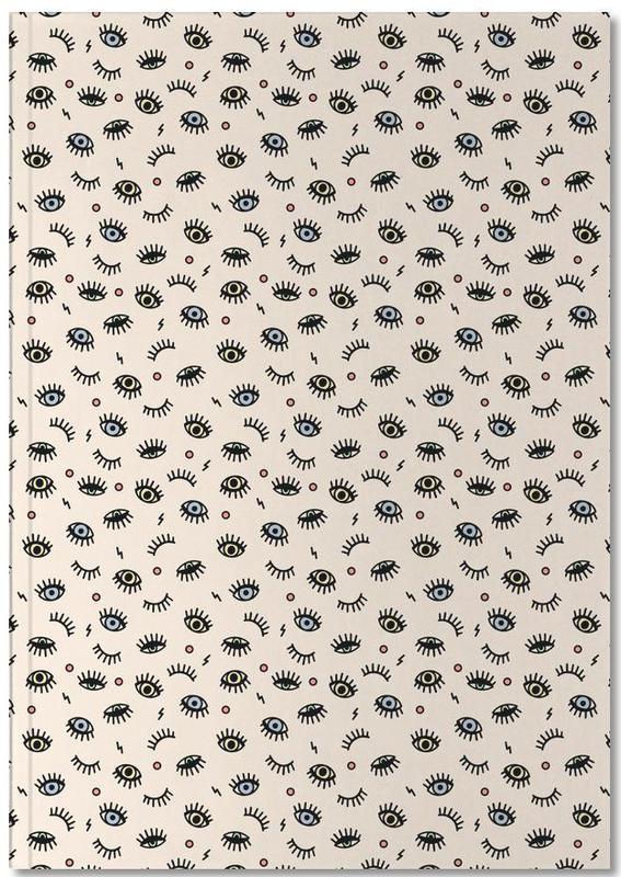 Eyes Premium Notizbuch   Dekoration > Accessoires   Mehrfarbig   Papier