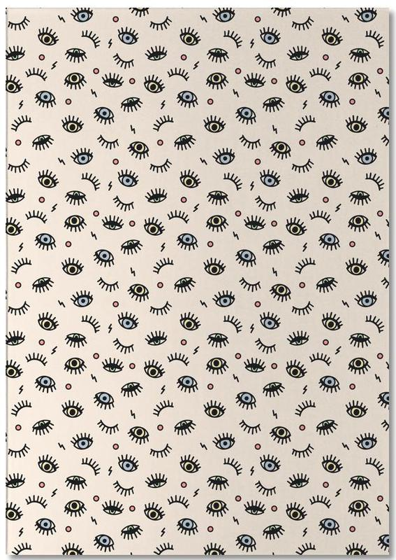 Eyes Notizblock   Dekoration > Accessoires   Mehrfarbig   Papier