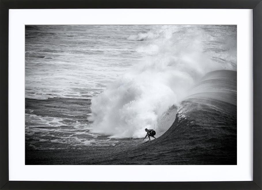 Indonesia Surf ingelijste print