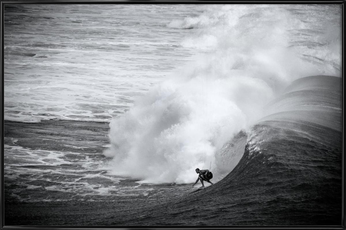 Indonesia Surf ingelijste poster