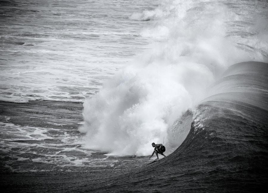 Indonesia Surf Canvas Print