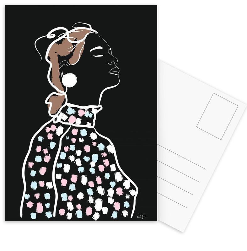 Inhale Postkartenset