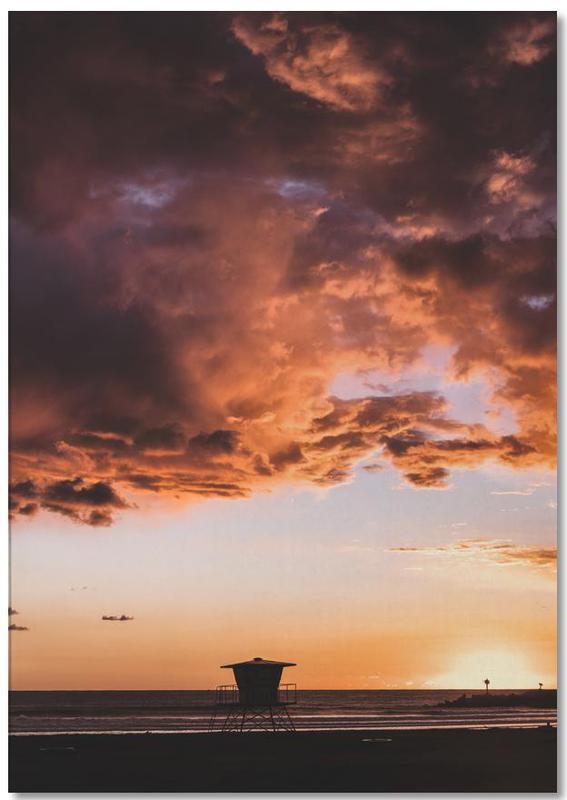 Pacific Sunset -Notizblock