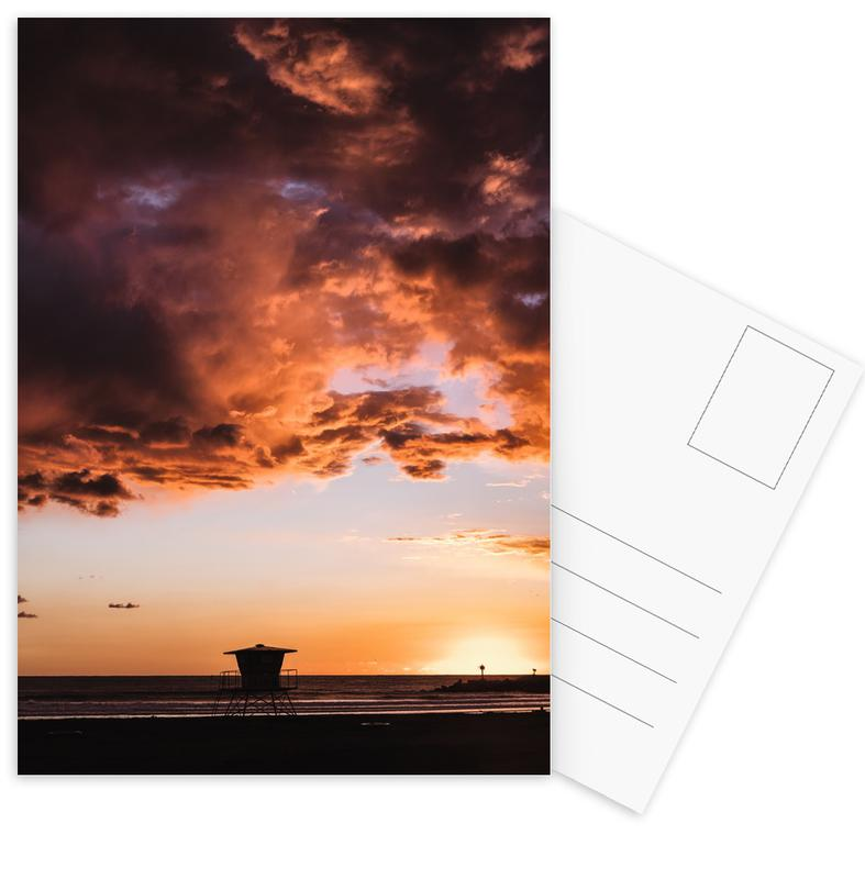 Pacific Sunset Postcard Set