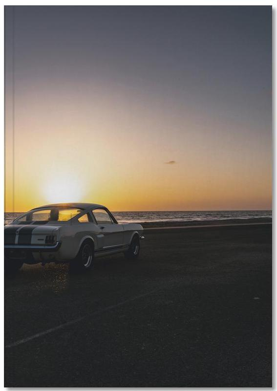 Sunset Mustang Notebook