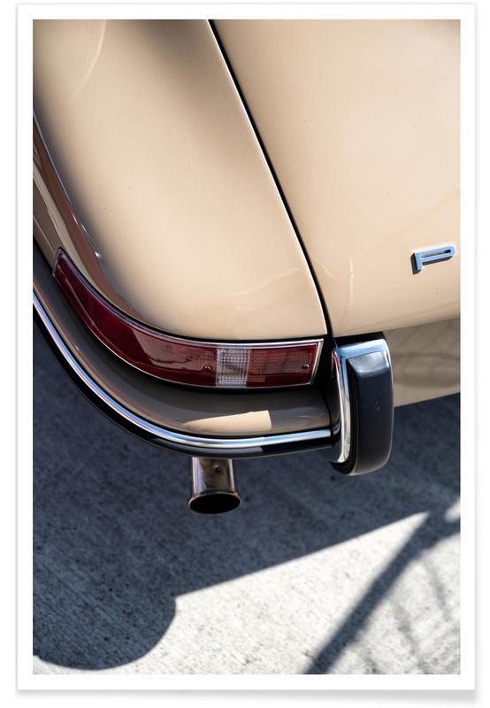 Porsche 911 Detail Photograph Poster