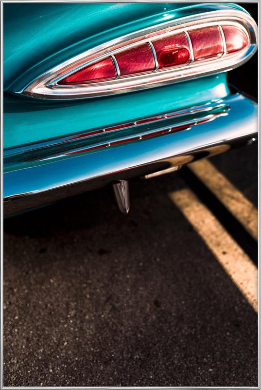 Impala Colors -Poster im Alurahmen