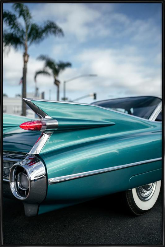 Cadillac Queen -Bild mit Kunststoffrahmen