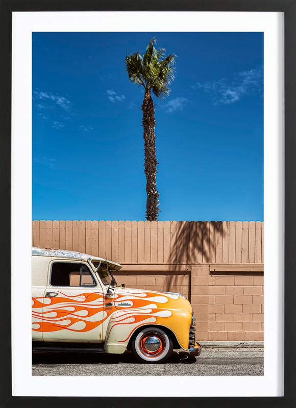 Cali Colors Framed Print