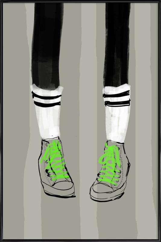 New Shoes Gerahmtes Poster | Dekoration > Bilder und Rahmen > Poster