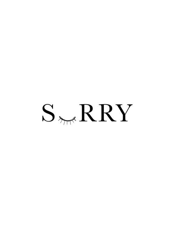 Sorry Leinwandbild
