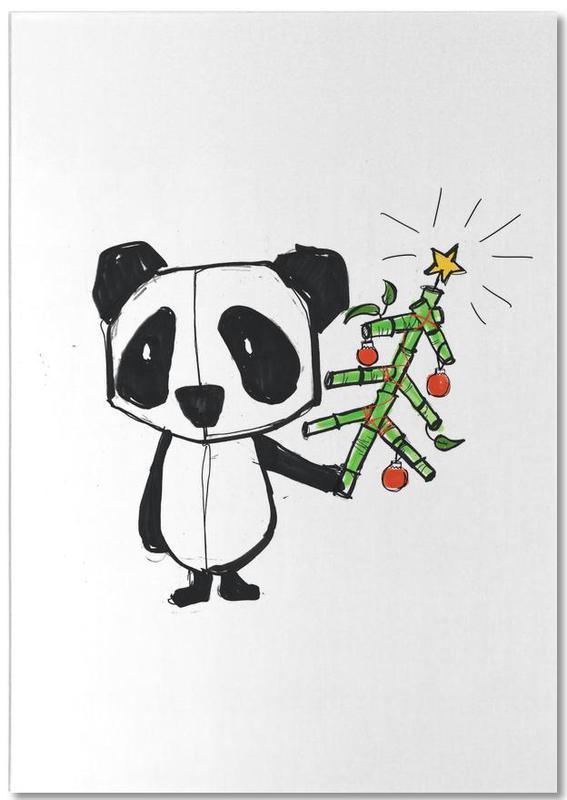 Panda -Notizblock