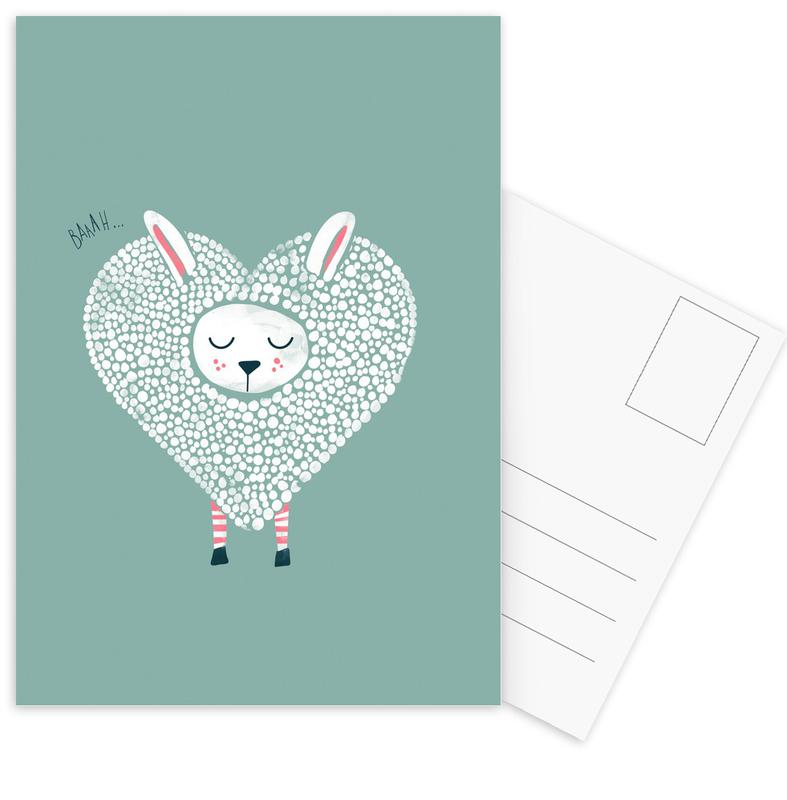 Cute Love cartes postales