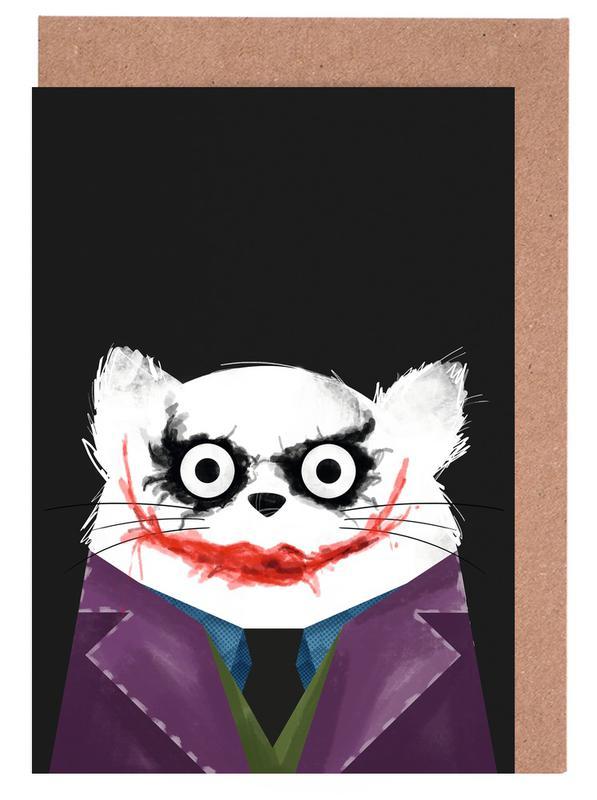 Cat - Joker Greeting Card Set