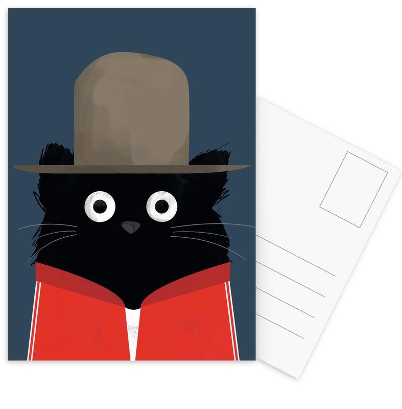Cat - Pharrell Postcard Set