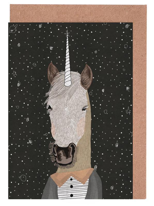 Unicorn Grußkartenset | Dekoration > Accessoires | Mehrfarbig