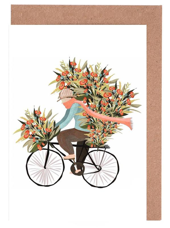 Bicycle -Grußkarten-Set