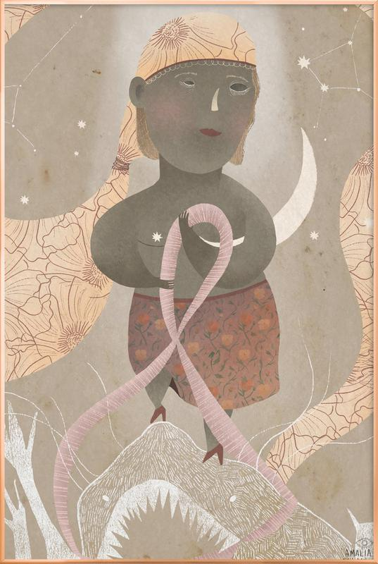 Survivor -Poster im Alurahmen