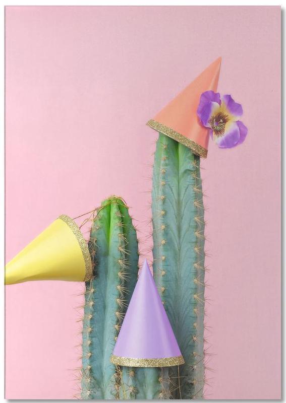Cactus Party Hats -Notizblock