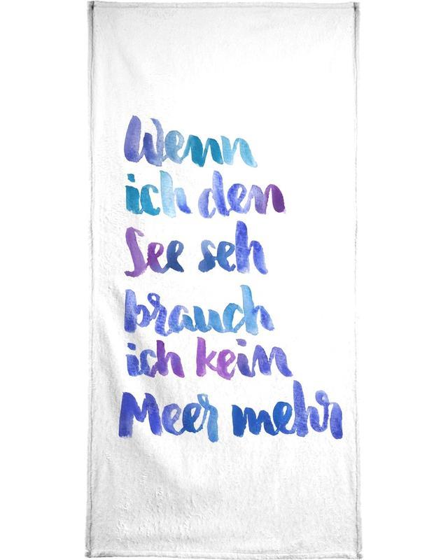 See -Handtuch