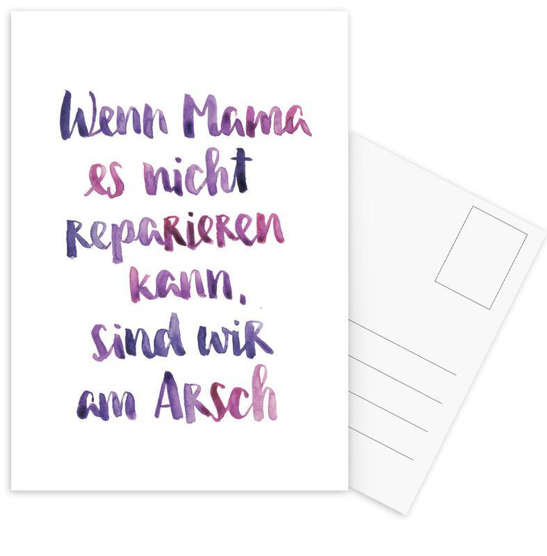 Mama 2 -Postkartenset